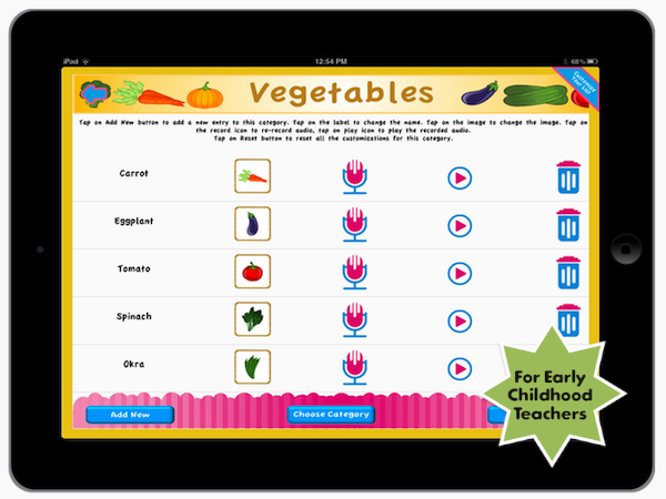 preschool-assessment ipad and iphone app for early childhood teachers