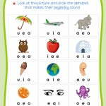 Beginning Sounds Worksheets